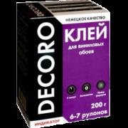 Клей для виниловых обоев Decoro 6-7 рулонов