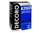 Клей для стеклообоев и обоев на флизилиновой основе Decoro на 50м2